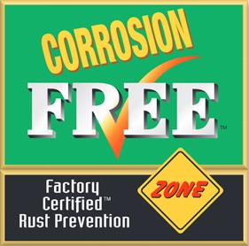 Corrosion Free | Chickasaw Garage Inc.